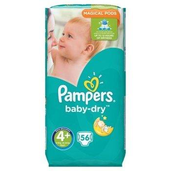 Pampers Baby Dry maat 4+ - 56 luiers