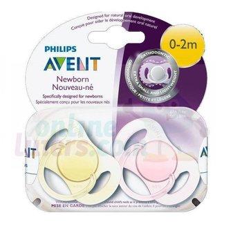 Philips Avent Fopspeen 0-2 mnd Mini Girl