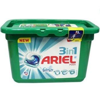 Ariel Pods 3 in1 - Febreze 16 stuks