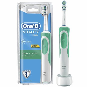 Oral B Electrische Tandenborstel Vitality Dual Clear