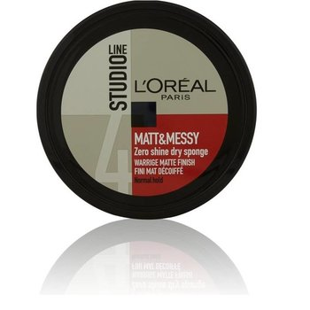 Loreal Studio Line Mat Messy Pot Sponge - 150 ml