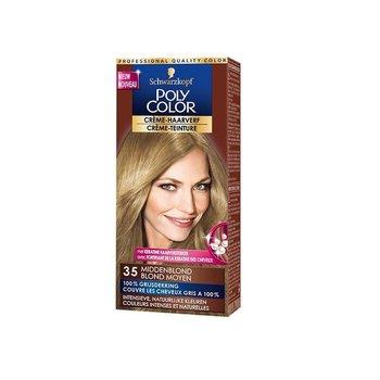 Poly Color Haarverf 35 Middenblond