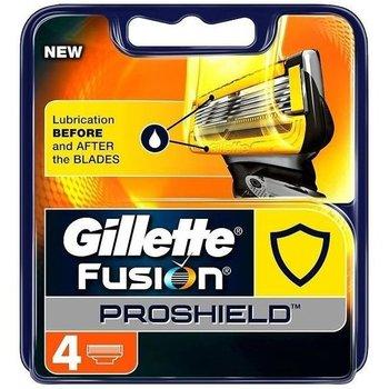 Gillette Fusion Proshield Yellow 4 Stuks