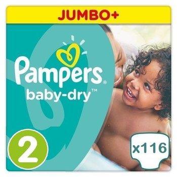 Pampers Baby Dry maat 2 - 116 luiers
