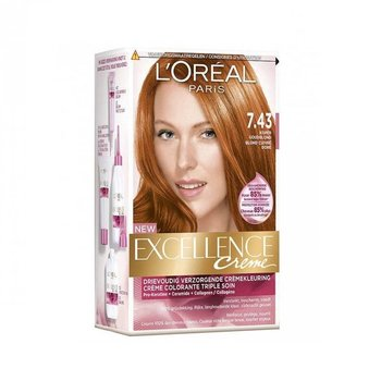 Loreal Excellence  7.43 Koper Goudblond