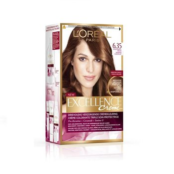 Loreal Excellence  6.35 Donker Goud Mahnieblond