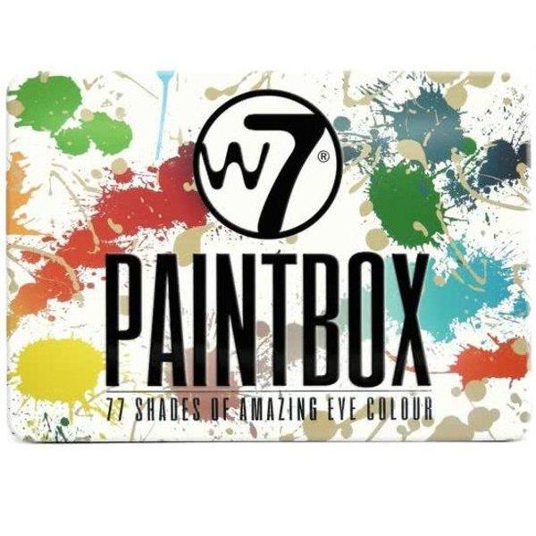 W7 Oogschaduw Paintbox 77 Kleuren