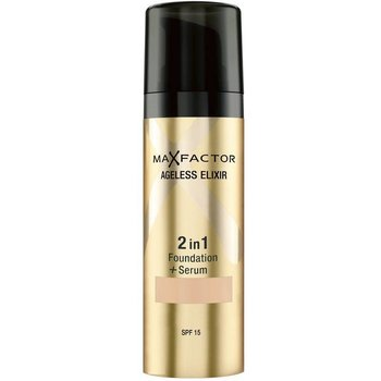 Max Factor Foundation Ageless Elixir 2 in 1 SPF 15 - 65 Rose Beige