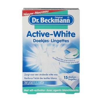 Dr.Beckmann Textiel Active White Doekjes