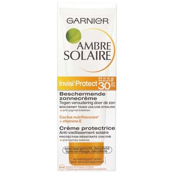 Garnier Ambre Solaire Beschermende Gezicht - SPF30 - Zonnebrandcrème