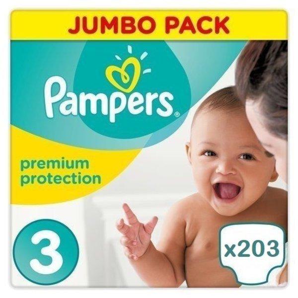 Pampers Pampers New Baby Maat 3 - 203 luiers