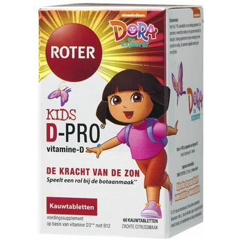 Roter D-Pro Kids 10µg Kauwtabletten 60 stuks