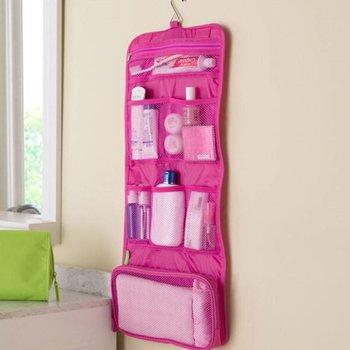 Roze Toilettas met haakje