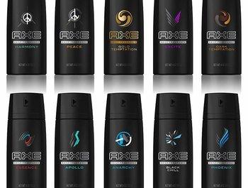 Axe de onweerstaanbare deodorant voor man en vrouw.