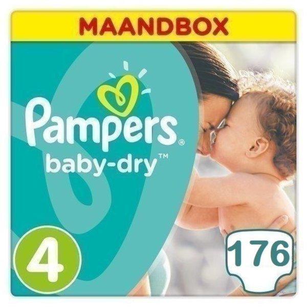 Pampers Pampers Baby Dry maat 4 - 172 luiers