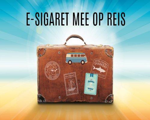 E-sigaret in het vliegtuig