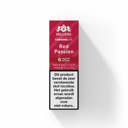 Millers Juice Chromeline Millers Juice Chromeline - Red Passion