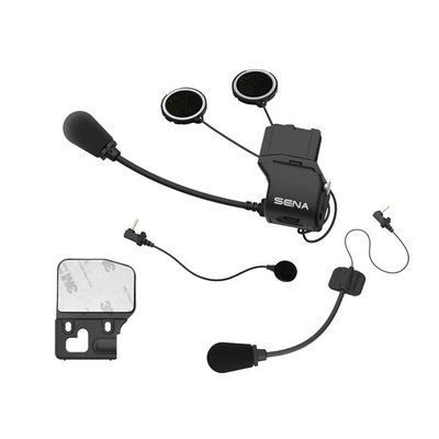 Sena Uni helmet clamp kit met microfoons