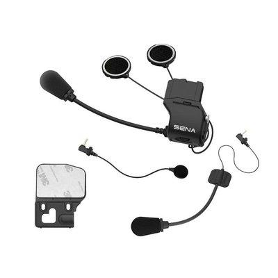 Sena Uni helmet clamp kit with microphones