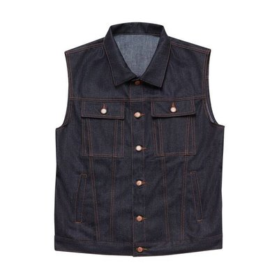 John Doe Denim Raw Vest