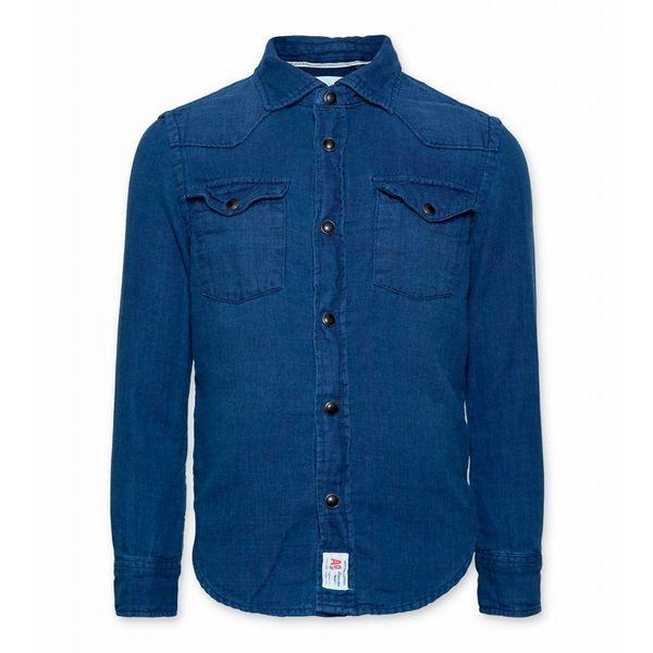 Denim overhemd - blauw