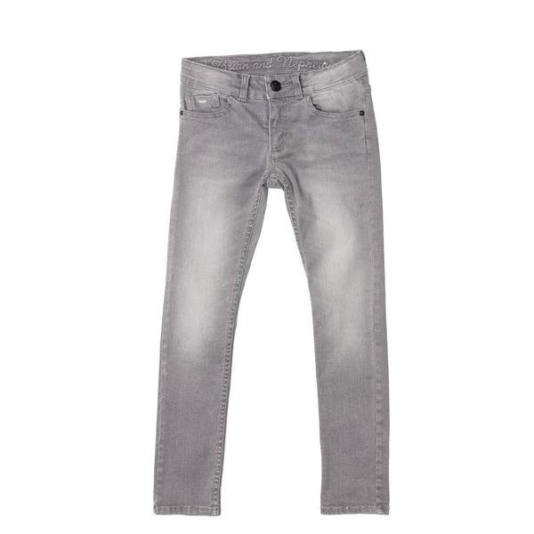 Spijkerbroek - Grijs