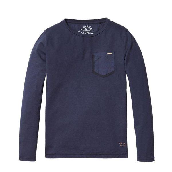 Shirt Lange Mouwen - Donkerblauw