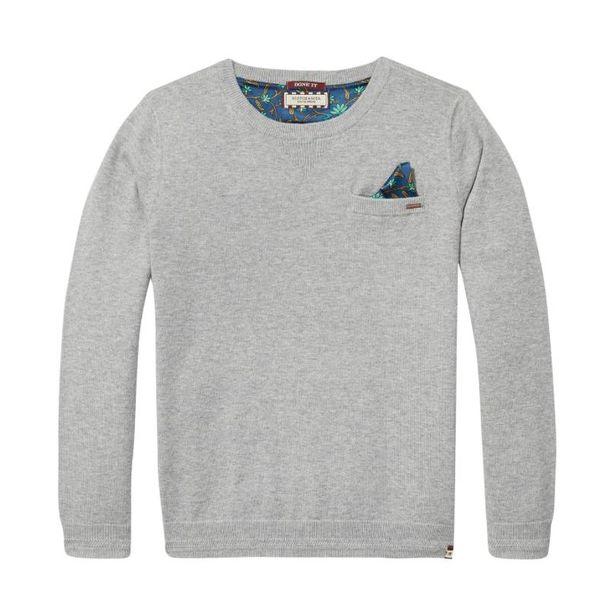 Sweatshirt - Grijs Gemêleerd