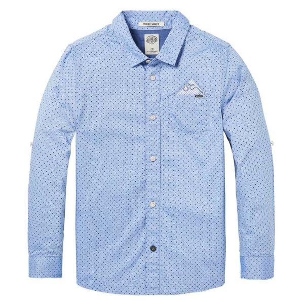 Overhemd - Blauw met details