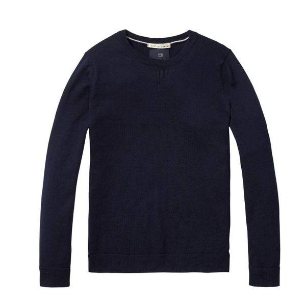 Sweatshirt - Donkerblauw