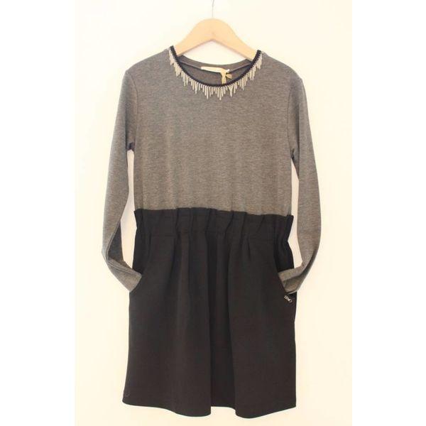 Tuniek - grijs-zwart