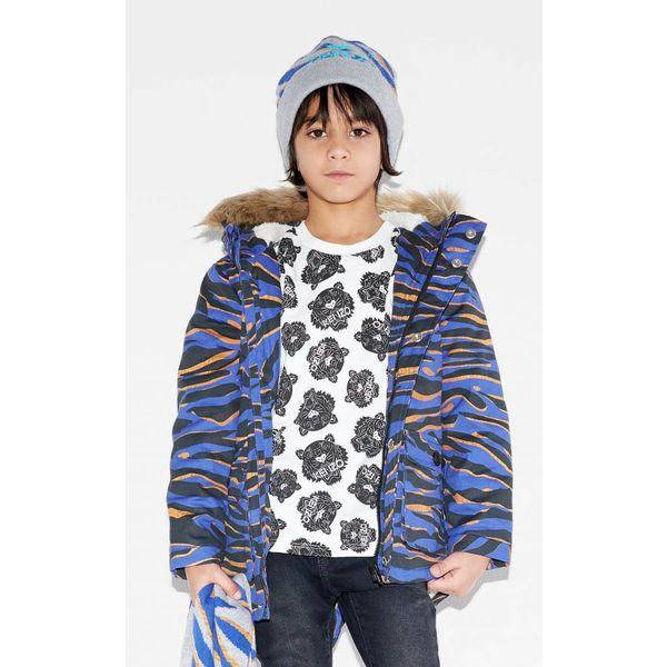 Stoer tijger shirt - Wit