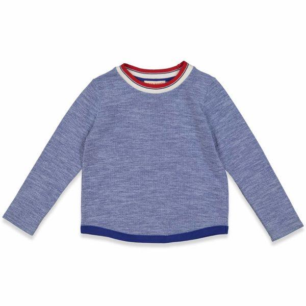 Shirt lange mouwen blauw