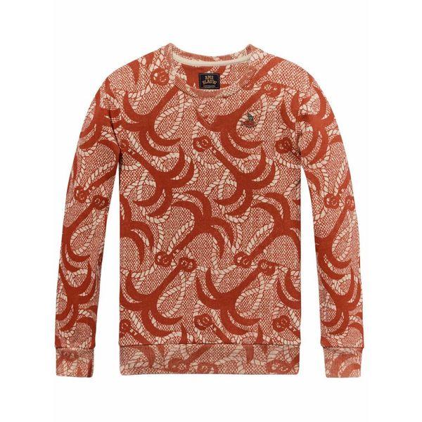Rood shirt met print