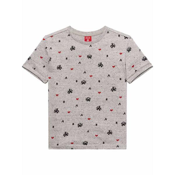 Korte mouwen shirt - grijs