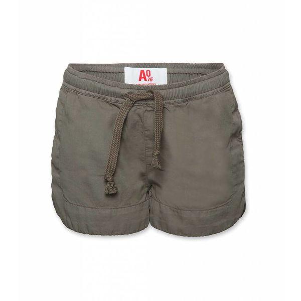 Donker groene short