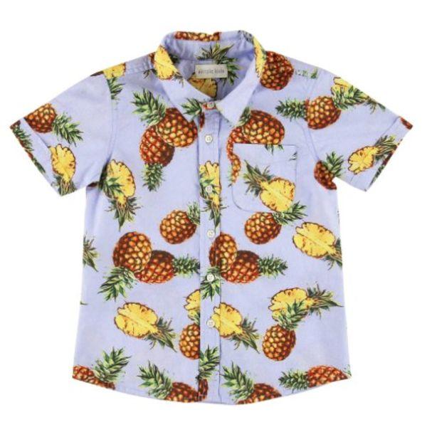 Overhemd met ananas print