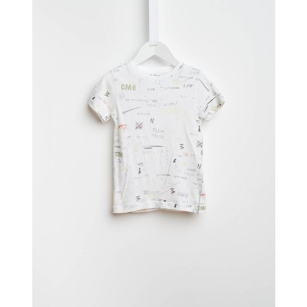 Wit t-shirt Bellerose