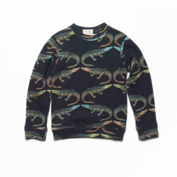 Sweater met krokodillen