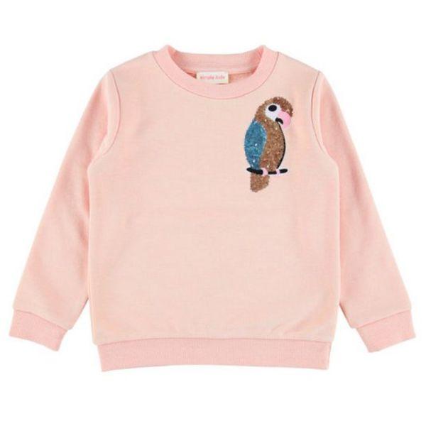 Simple Kids Sweater papegaai