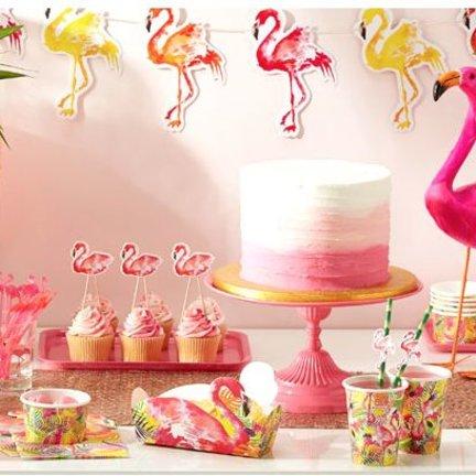 Flamingo feestartikelen shopt u voordelig en snel in de online feestwinkel van J-style-deco.nl