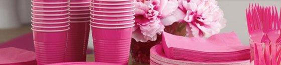Roze Feestartikelen