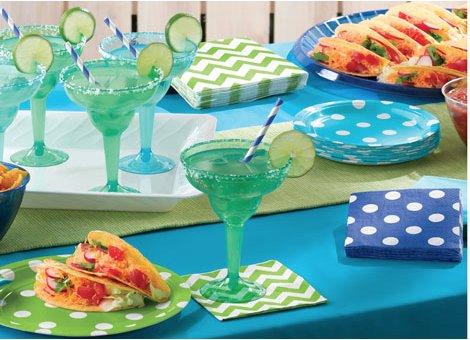 Turquoise feestartikelen groot en uniek aanbod vindt je hier