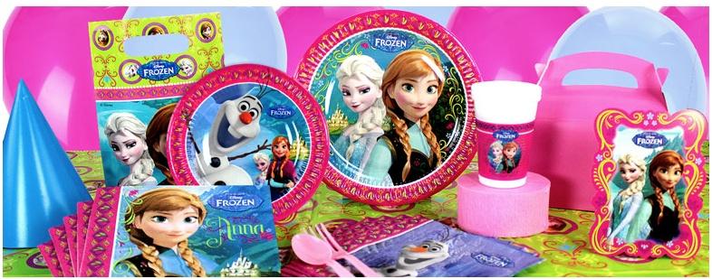 Frozen feestartikelen versiering j style deco j for Decoratie nep snoep