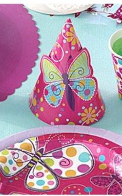 Vlinder feestartikelen