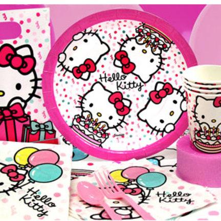 Hello Kitty Feestartikelen & versiering