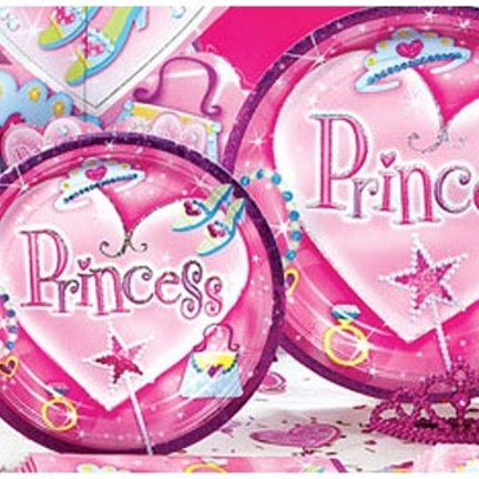 Prinses feestartikelen & versiering