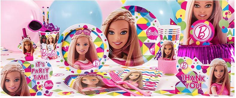 Barbie feestartikelen & Versiering