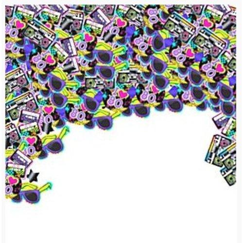 80's confetti