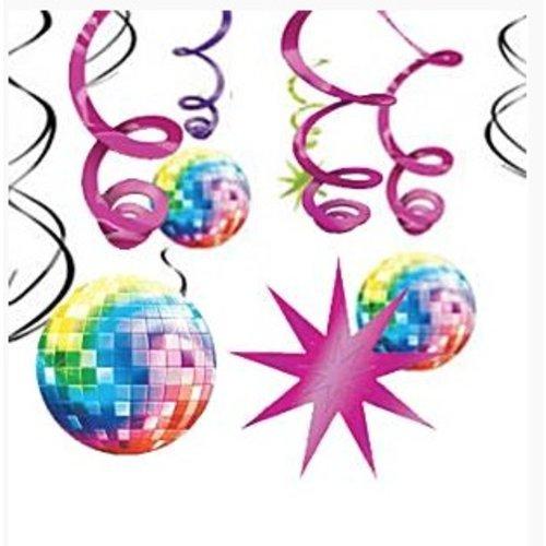 Disco swirls slingers